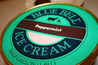Favorite Peppermint products blue bell peppermint ice cream