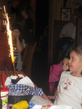 Famous daves birthday sparkler