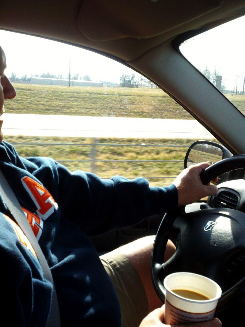 Car trip driver