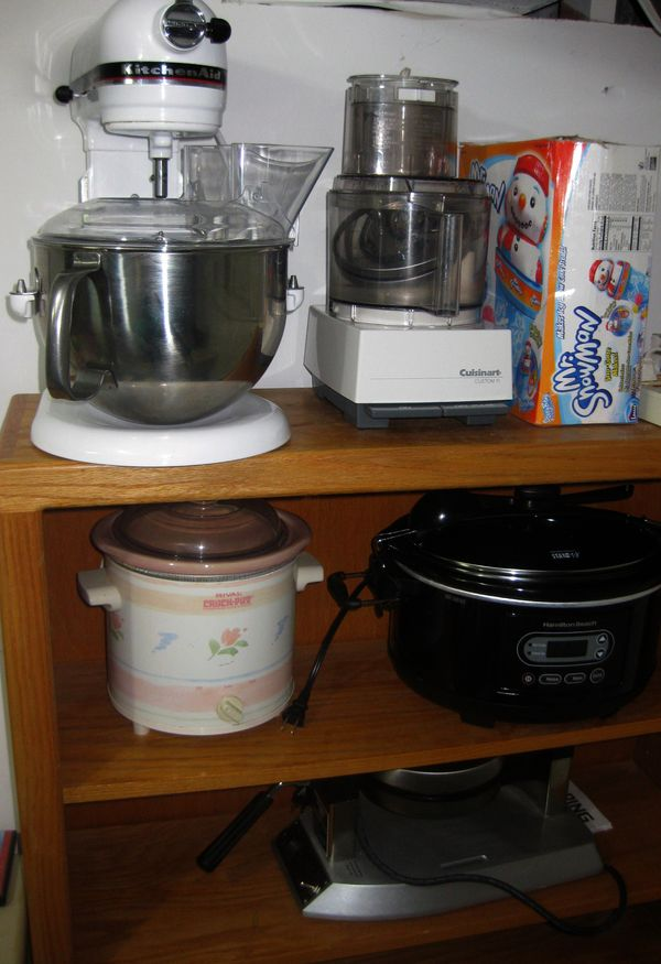 Storing Large Appliances In A Small Kitchen Marythekaytheblog