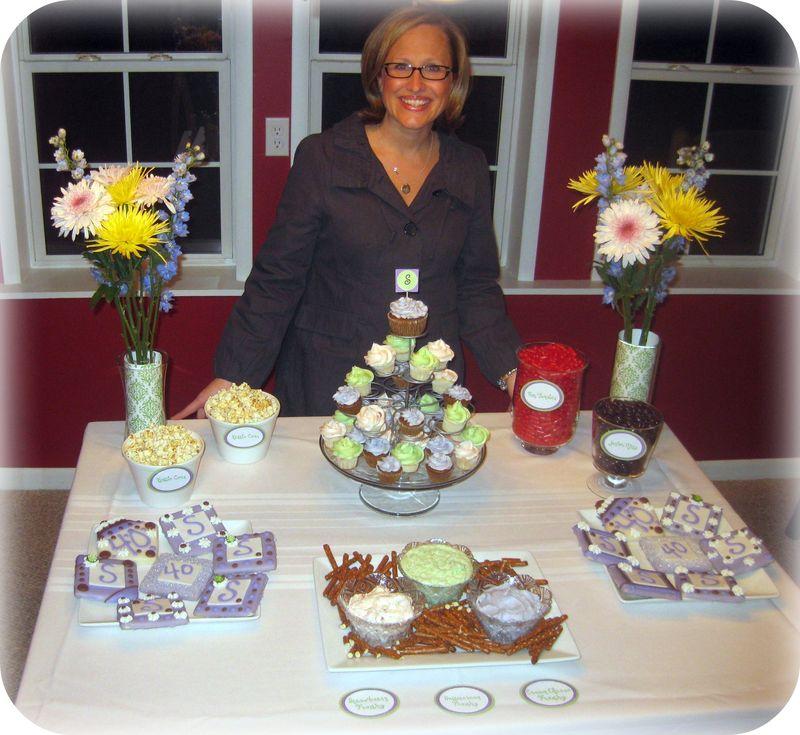 Dessert table by jenn