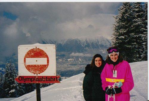 Spring Break in Austria - Innsbruck skiing