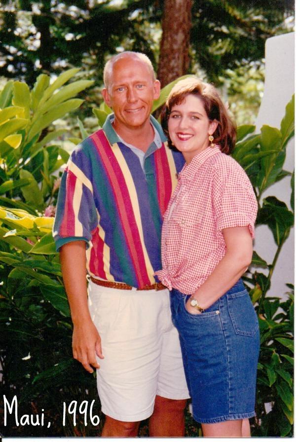 Spring Break in Maui -couple pic