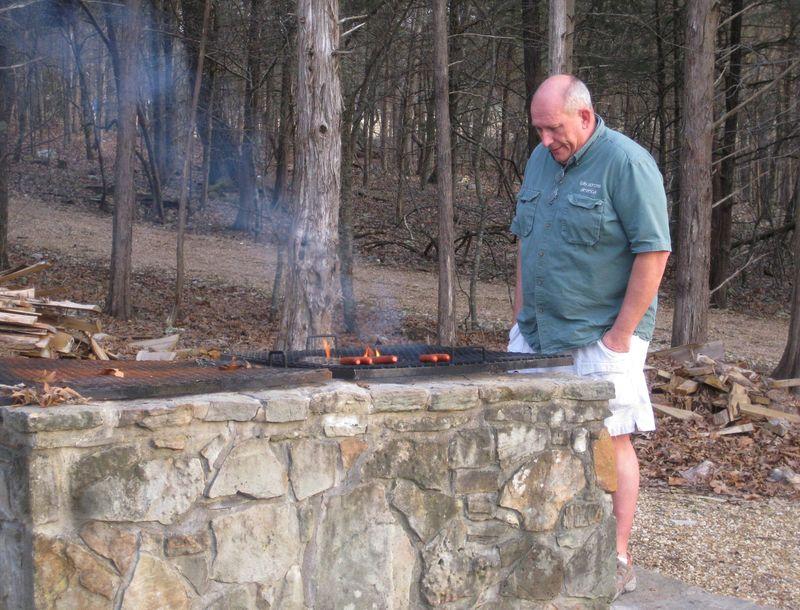 Camping master griller