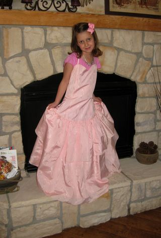 Retro dresses pink taffeta prom dress