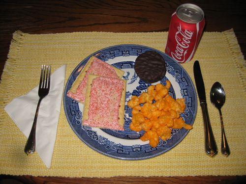 Quick junk food dinner kids will love
