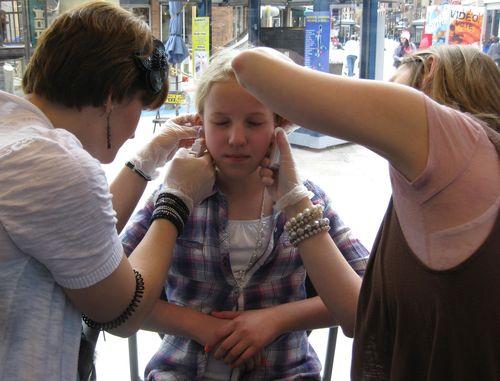 Mother feminized son pierced ears hairstylegalleries com