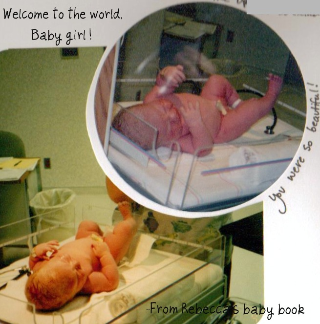 Newborn rebecca pics