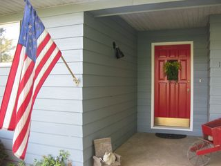 American Flag at our house