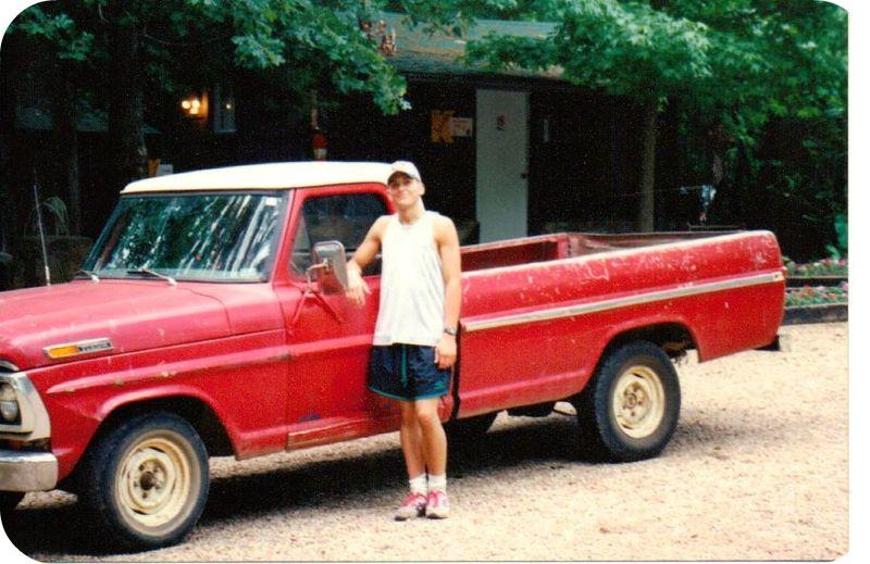 Big brother skunk hunting truck