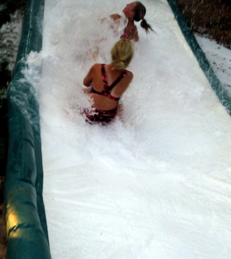 Slip n Slide splash