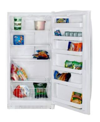 Upright freezer at Sears