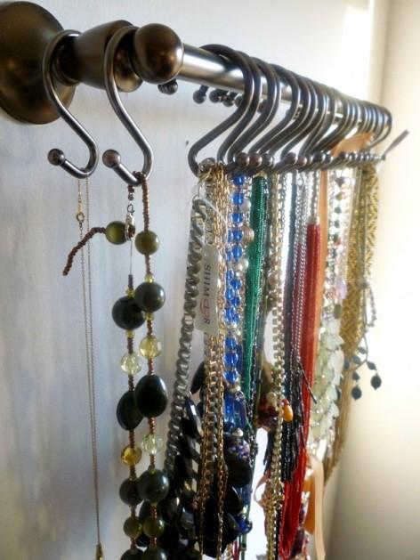 Pinterest necklace organizer