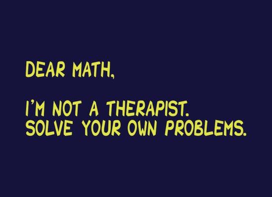Pinterest math humor