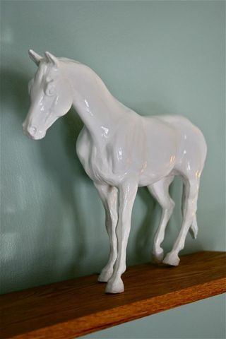 Pinterest spray paint old toys to look like porcelain