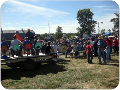 South Dakota Pioneer Power tractor parade