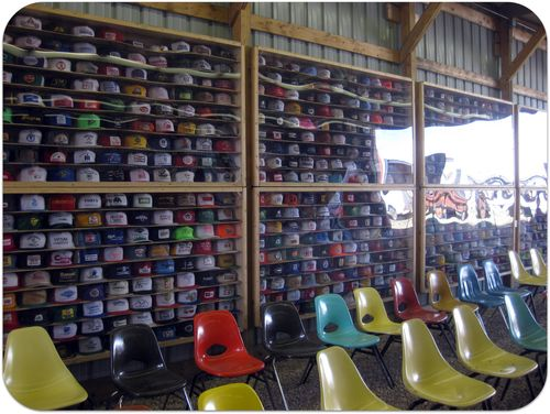 South Dakota Pioneer Power hat collection