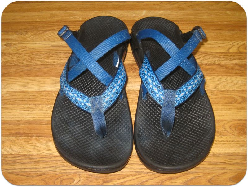 How to clean Chaco sandals after picture