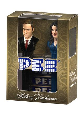 Royal wedding pez