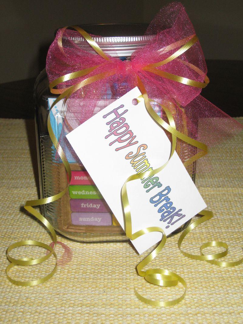 Happy jar of goodies gift set