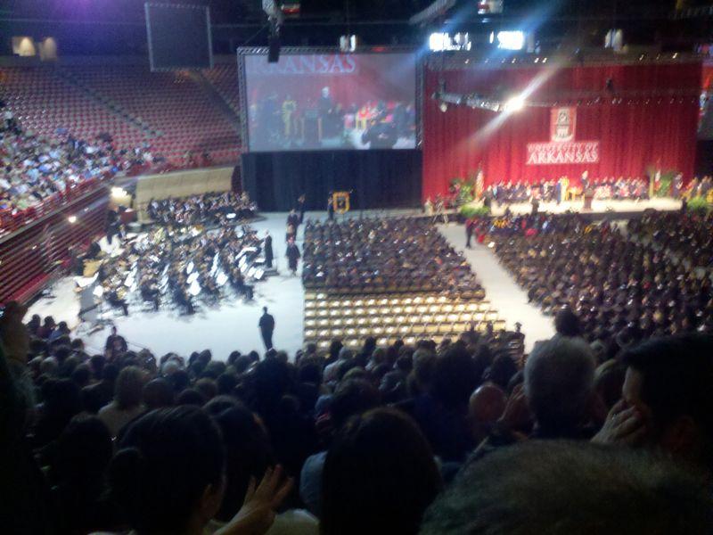 U of A graduation