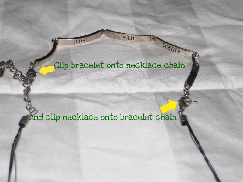 How to lengthen a necklace instructions