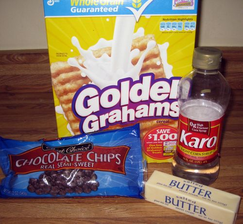Team lunch smores ingredients