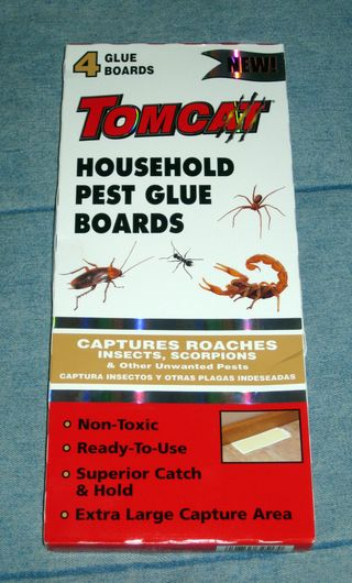 Spider traps Tomcat household pet glue boards