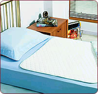 Bedwetting pad protects the bed and sheets