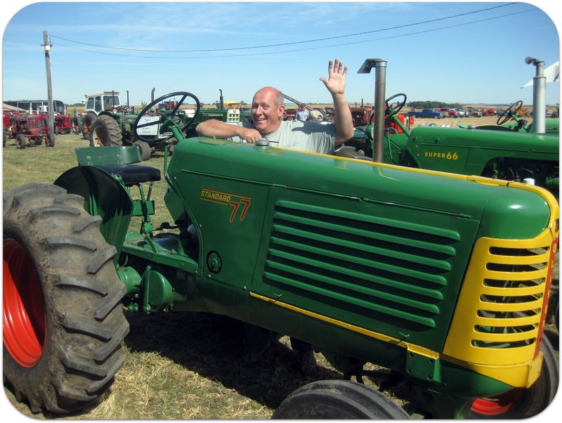 South Dakota Pioneer Power tractor Dave