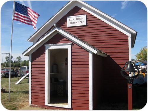 South Dakota Pioneer Power old walz school house