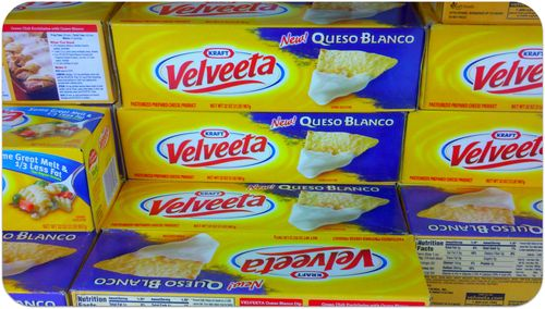 Beach trip velveeta queso blanco