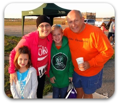 First 5k family