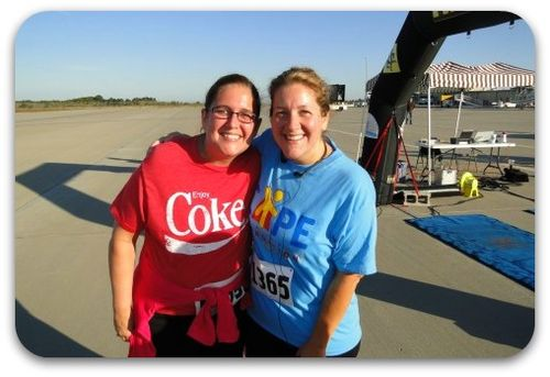 First 5k encouraging friend