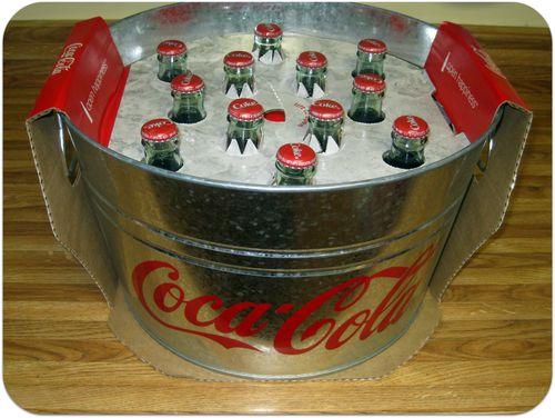 Coke tub gift