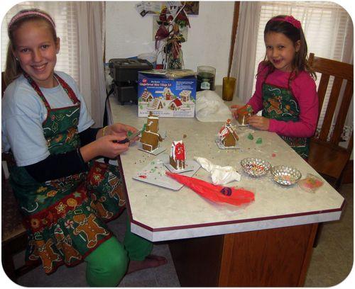 Thanksgiving craft time