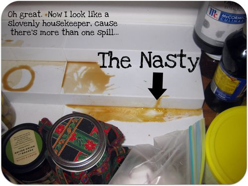 Nasty spill in my pantry
