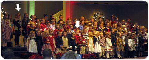 Christmas band and choir concert the head tilt
