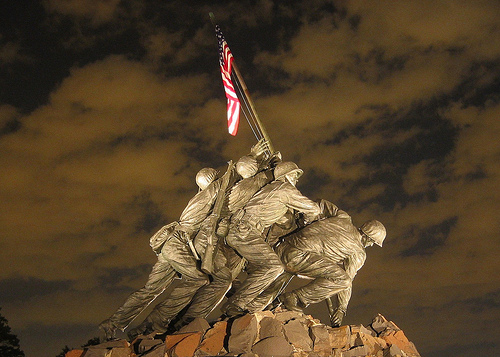Iwo Jima statue