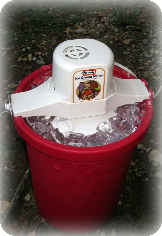 Dr Pepper Passion ice cream freezer