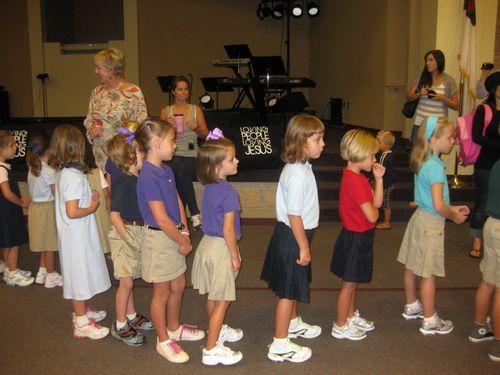 Sara Beths 1st grade class