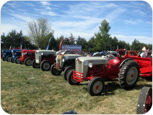South Dakota Pioneer Power Show tractors