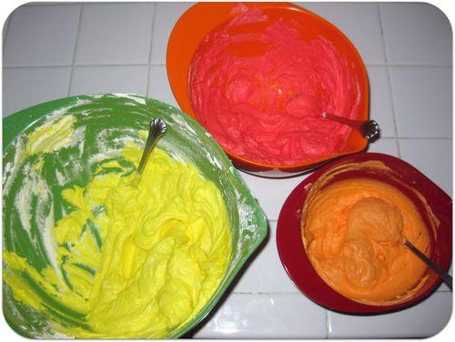 Fireman cupcakes icing