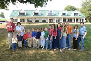 The Duggar Family website photo