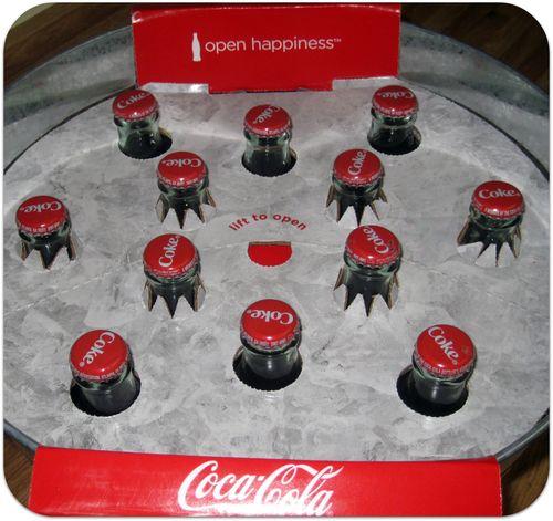 Coke tub surprise gift