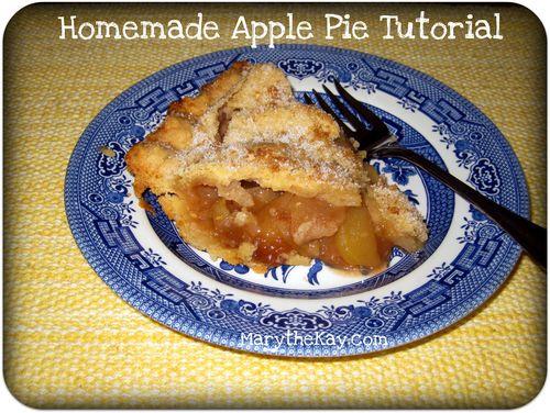 Apple pie tutorial picture
