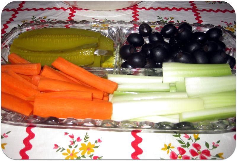 Thanksgiving relish dish