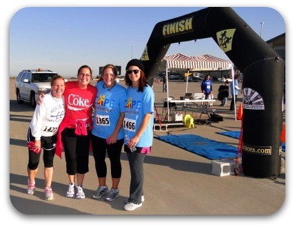 First 5k runner friends 2