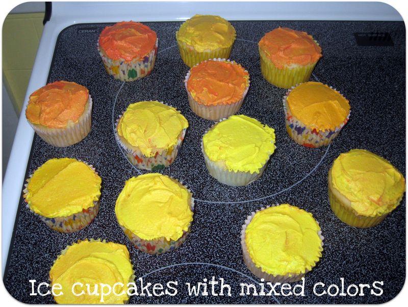 Fireman cupcakes ice cupcakes