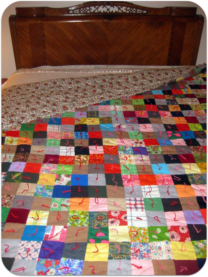 Thanksgiving patchwork quilt